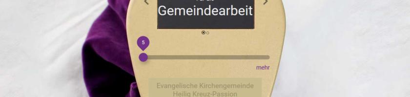 kollekte.app Screenshot Heilig Kreuz Passion